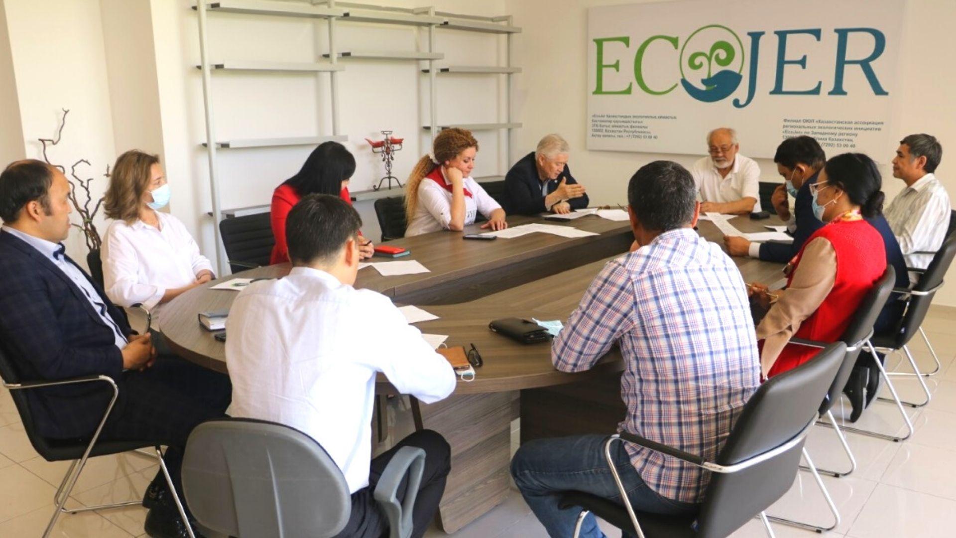 Качественное обновление: состав Регсовета «ECOJER» пополнился в Мангистау