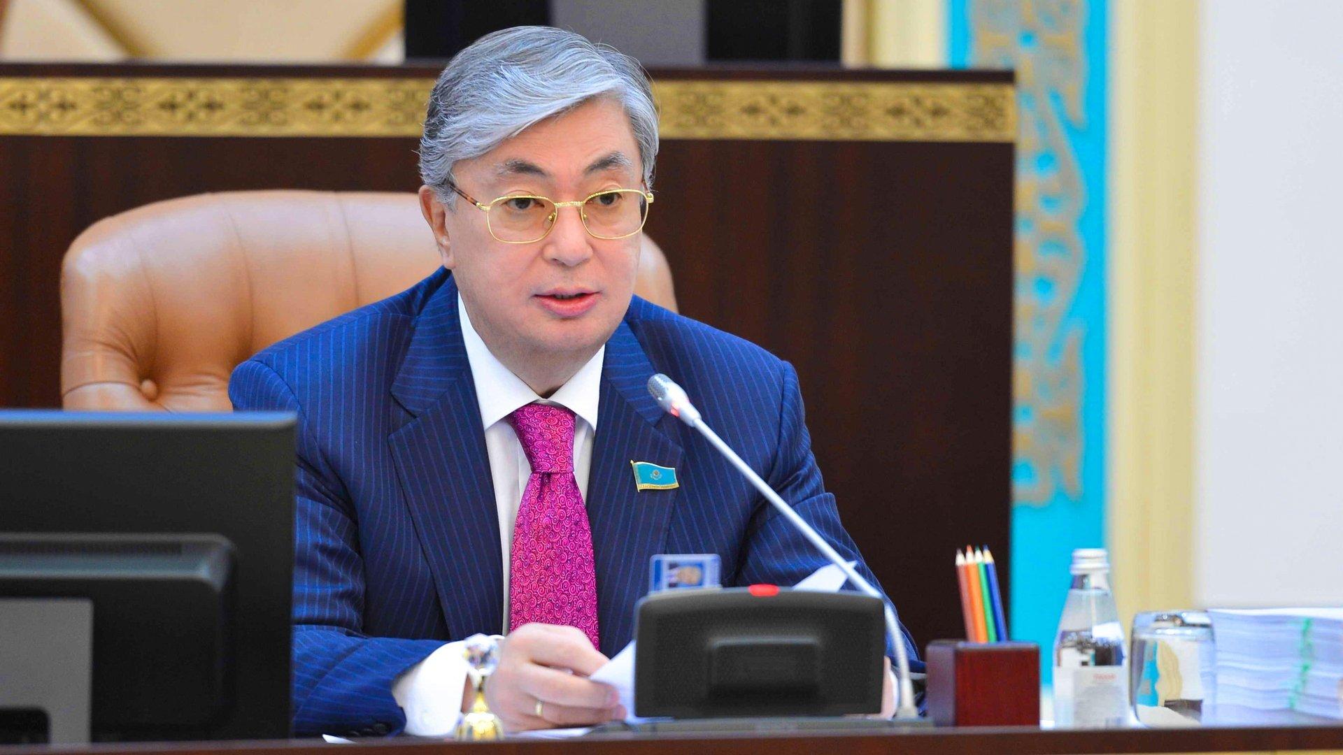 Касым-Жомарт Токаев поздравил участников Международного Конгресса
